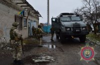 Банда грабителей открыла стрельбу по полиции во время нападения в Киевской области