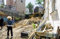 У Києві знесли історичну садибу Барбана (оновлено)