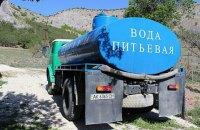 У трьох районах Криму питна вода стала солоною