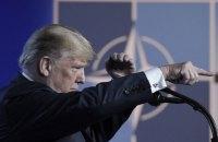Трамп: США несут 91% расходов для обеспечения безопасности в Европе