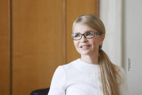 Тимошенко: сегодня модно разговаривать на украинском