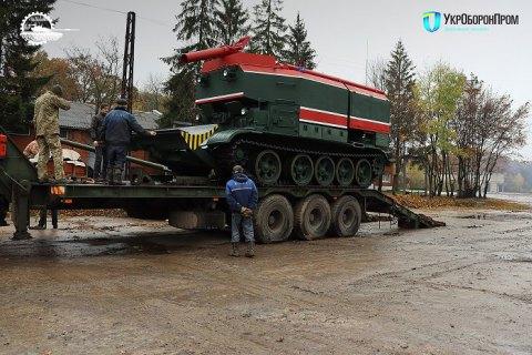Львівський бронетанковий завод модернізував близько півтора десятка пожежних танків