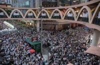 У Гонконгу близько мільйона людей мітингували проти можливості екстрадиції в Китай