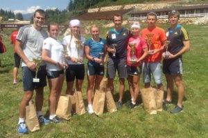 Украинские биатлонисты выиграли турнир в Румынии