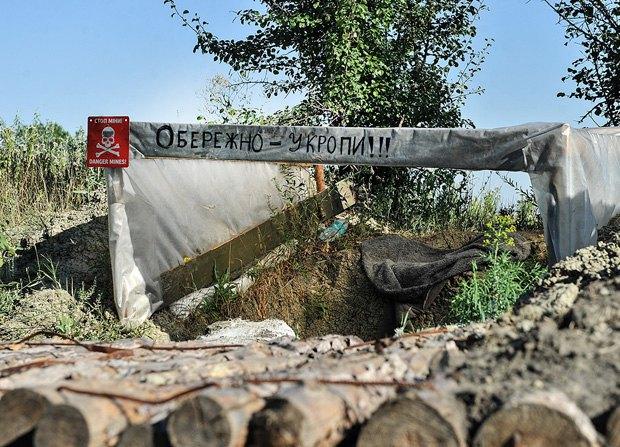 Турчинов: Боевики пробуют пробиться внаправлении Бахмутской дороги