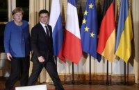 Зеленський обговорив з Меркель ситуацію на Донбасі