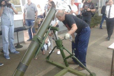 """На столичном заводе """"Маяк"""" разрабатывают 60 мм миномет по стандартам НАТО"""
