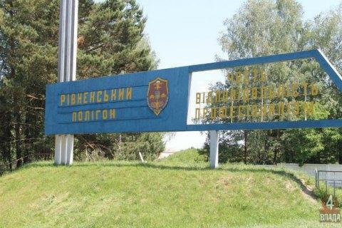 У Рівненській області на полігоні помер боєць АТО з оперативного резерву