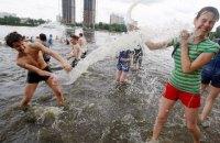 В понедельник в Киеве жара до +33 градусов