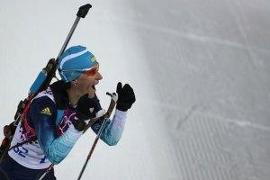 Українські біатлоністки знову залишилися без медалей у Сочі