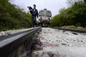 В Македонии поезд врезался в толпу мигрантов: 14 погибших