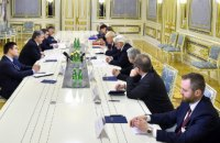 Порошенко обсудил с главами МИД Британии и Польши ситуацию на Донбассе