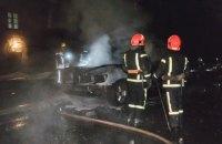 Рятувальники виявили двох загиблих під час пожежі на теплотрасі в Києві
