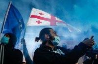 В Грузии оппозиционные партии отказываются от мандатов