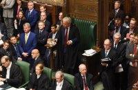 У британському парламенті почалися дебати про вихід з Євросоюзу