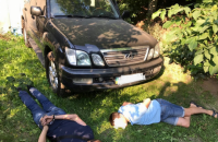 Под Обуховом нашли угнанный Lexus GX замглавы Нацполиции
