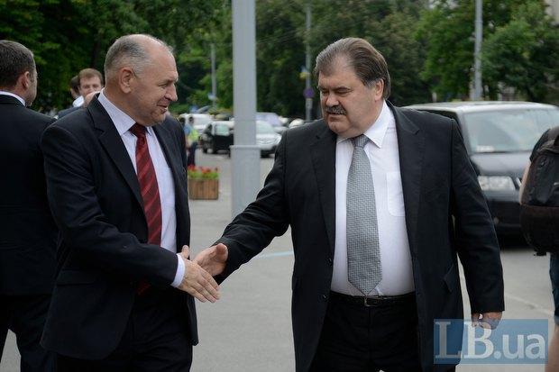 Владимир Бондаренко (справа)