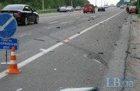В Харьковской области пассажирский автобус столкнулся с легковушкой
