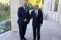 """Лукашенко й Путін провели п'ятигодинні перемови про """"союзну державу"""""""