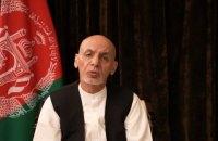 Президент Афганістану Гані, який втік після захоплення країни талібами, записав відеозвернення