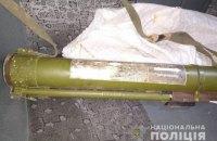 На в'їзді до Києва патрульні затримали автомобіль з гранатометом у багажнику