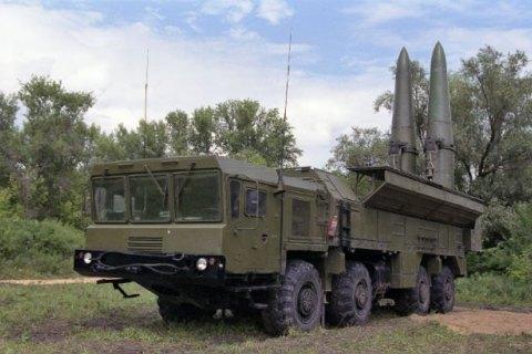 """Минобороны подтвердило размещение Россией ракетных комплексов """"Искандер"""" у границы с Украиной"""