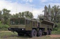 Міноборони підтвердило розміщення російських ракетних комплексів Іскандер біля кордону з Україною