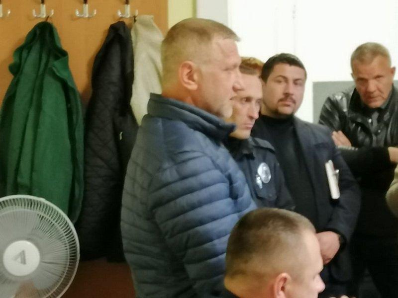 Виктор Кавацюк - организатор поездки белорусов.