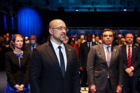 Шмигаль у Швеції взяв участь у міжнародному форумі пам'яті Голокосту