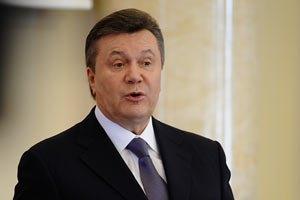 Янукович має намір побороти рецесію будівництвом доріг