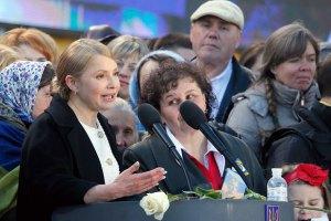 Сепаратисти в паніці й Україні треба їх дотискати, - Тимошенко