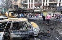 Жертвами взрыва в Багдаде стали десятки человек