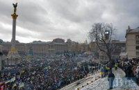 Политическая дикость не способствует росту сторонников Майдана