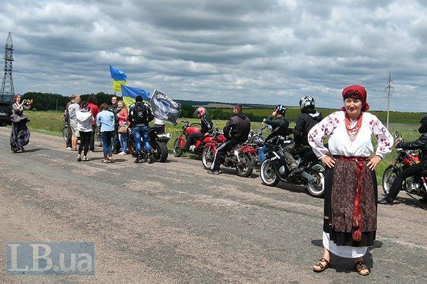 Зустріч посеред степу: байкери і учасники фестивалю