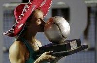 Леся Цуренко выиграла турнир WTA в Акапулько