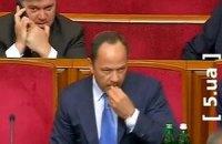 Тігіпко приклеїв жуйку під столом у парламенті (ВІДЕО)