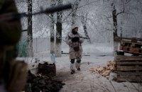 Один военный был ранен на Донбассе в понедельник