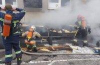 """У Рівному під час пожежі в ТРЦ """"Арена"""" евакуювали понад півсотні людей"""
