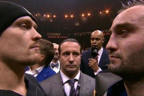 Російський боксер розповів про свій план на бій зУсиком