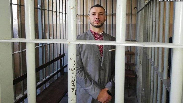 Виталий Маркив во воремя суда