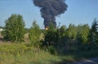 На нафтобазі БРСМ під Васильковом сталася нова пожежа