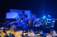 Двое детей погибли в ДТП с грузовиком в Полтавской области