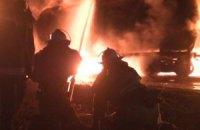 В Харькове горели 4 цистерны с авиатопливом