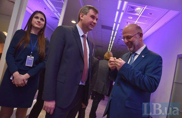 Григол Катамадзе (справа), Виктор Соколов и Светлана Балюк, Институт Горшенина,