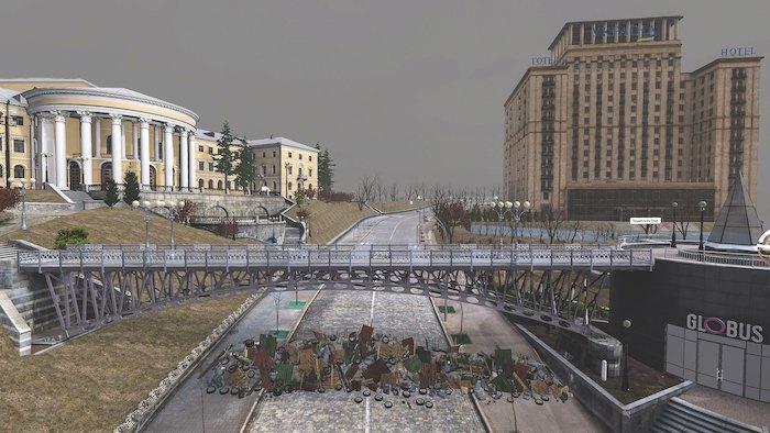 Кадр з Aftermath VR: Euromaidan