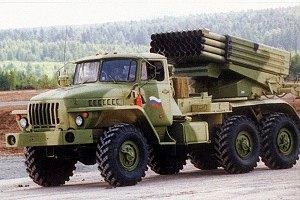 """Сили АТО знищили 11 """"Градів"""", 3 танки і 5 БМП терористів біля Сніжного"""
