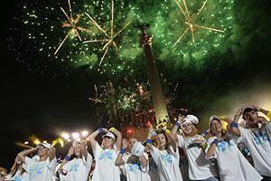 Концерт на Майдане собрал 100 тыс. зрителей