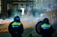 У Нідерландах тривають акції проти локдауну, понад 180 затриманих