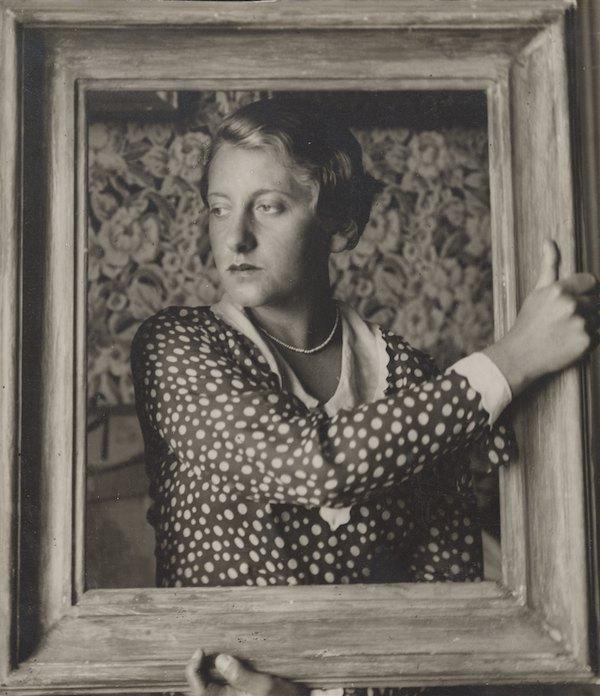 """Александр Кшивоблоцки, """"Портрет художницы Магрит Сельской"""", 1928"""