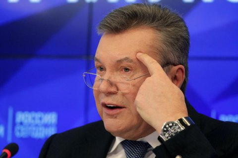 ДБР повідомило Януковичу і двом ексміністрам оборони підозру в держзраді на користь Росії (оновлено)
